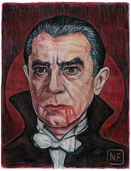 Dracula Blood Moon Rising by Neil Feigeles