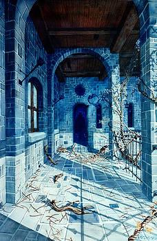 Dracula's Castle by Bob Cook