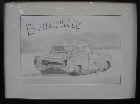 Drag At Bonneville by Chris Lambert