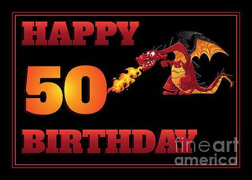 JH Designs - Dragon 50th Birthday
