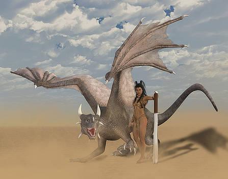Dragon and Master by Solomon Barroa