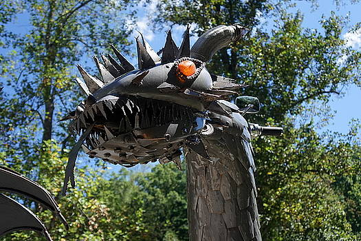 Dragon at The Dragon by Laurie Perry
