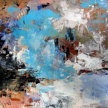 Dragon bleu by Diane Desrochers