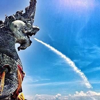 #dragon #blue #sky #skylovers by Kang Choon Wong