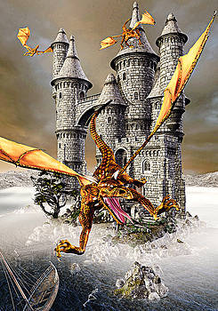 Dragon Castle by Peter J Sucy