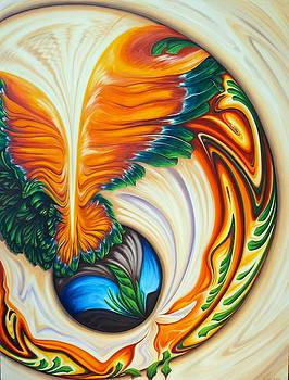 Dragon Flower by Evie Zimmer