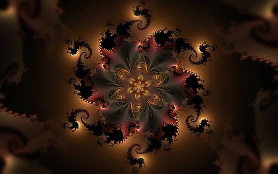 Dragon Flower by GJ Blackman