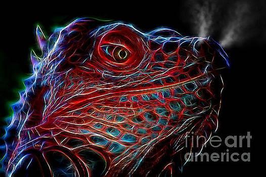 Dragon-iguana-sauras by Patrick Witz
