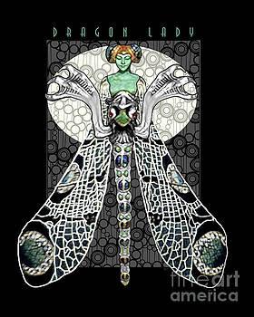Dragon Lady Black by Dia T