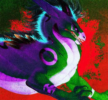 Dragon Lair by Digital Art Cafe