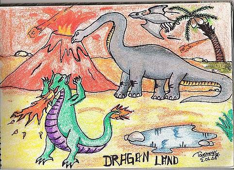 Dragon Land by Tanmay Singh