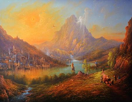 Dragon Mountain by Ray Gilronan
