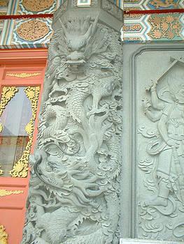 Dragon Pillar by Melissa Stinson-Borg