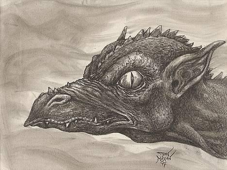 Dragon Portrait No. 2 by Dan Moran