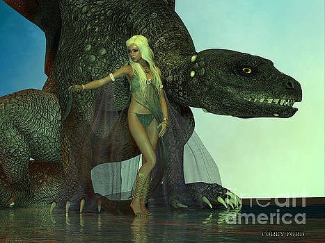 Corey Ford - Dragon protects Fairy