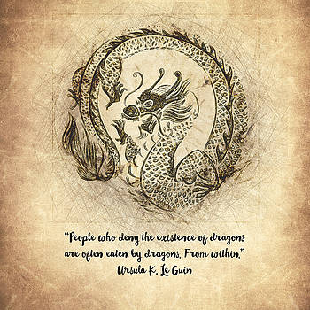 Dragon Quote by Zapista Zapista