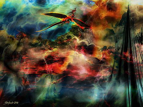 Dragon Realms VI by Stefano Popovski