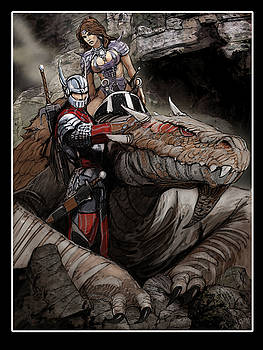 Dragon Riders by Roel Wielinga