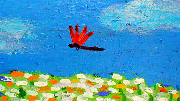 Dragonfly Closeup from Day and Night by Angela Annas