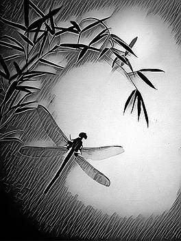 Dragonfly In Ink by Mark Fuller
