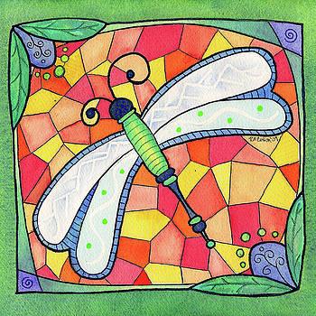 Dragonfly Jewel by Rachel Cotton