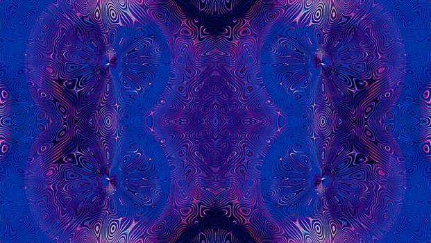 Dragonfly Midnight Swirls 2 by Alisha at AlishaDawnCreations