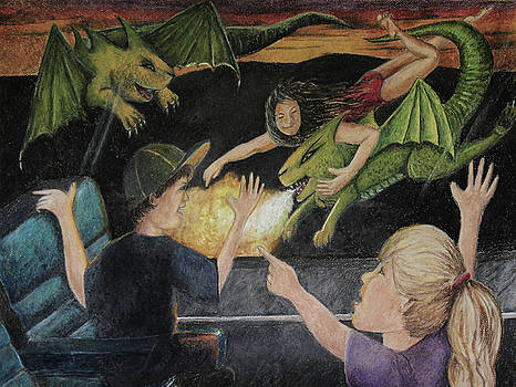 Dragons From The Train by Larry Whitler