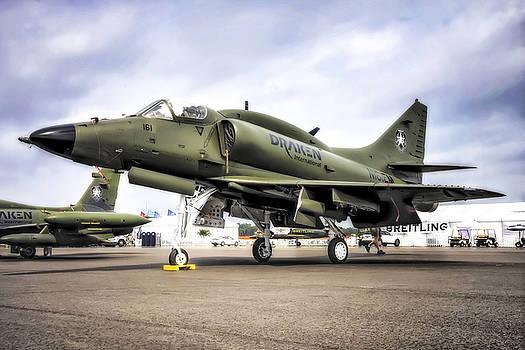 Douglas A-4M Skyhawk II by Michael White