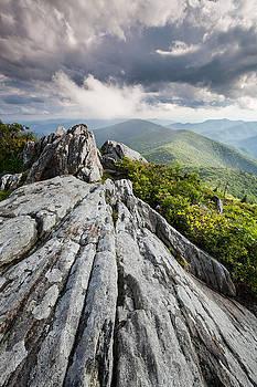 Dramatic Blue Ridge Mountain Scenic by Mark VanDyke