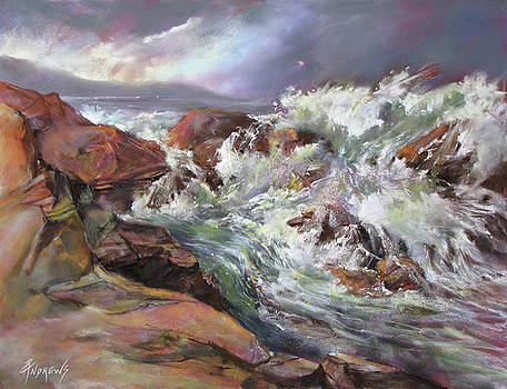 Dramatic Entrance by Rae Andrews