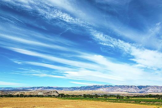 Dramatic Sky and Farmland by Jess Kraft