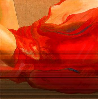 Drape Rouge by Krzis-Lorent Frederique