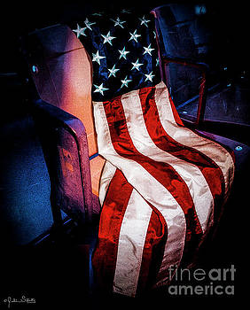 Julian Starks - Draped American Flag