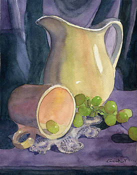 Drapes and Grapes by Lynne Reichhart