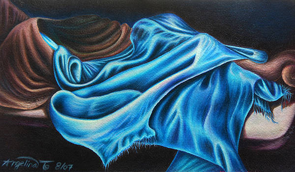 Draping Over by Angelina G T