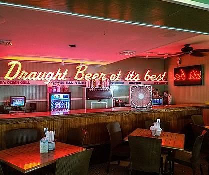 Draught Beer Sign by Denise Keegan Frawley