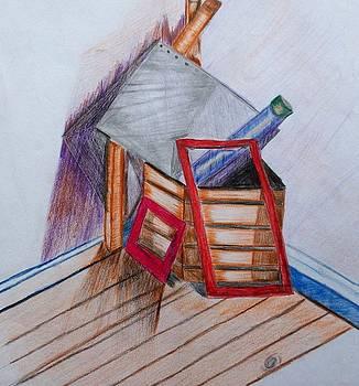 Drawing material by Eloudi Coetzer