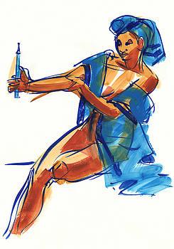 Judith Kunzle - Drawing Model