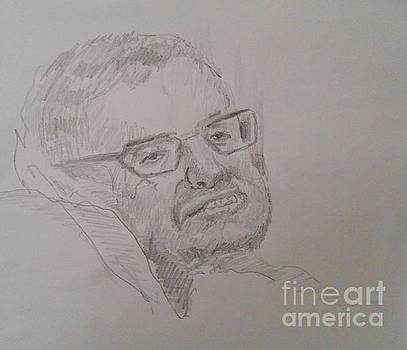 John Malone - Drawing of Stephen Hawking