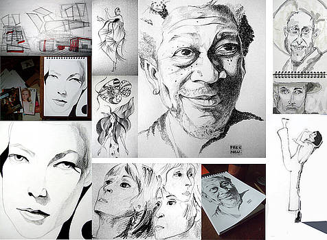 Drawings by Ana Popescu