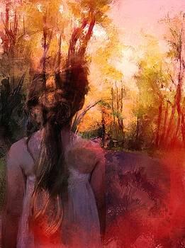 Drawn to the light by Richard Okun
