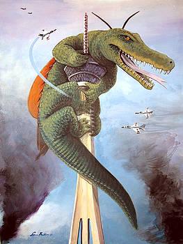 Dreaded CrocRoach by Steve Benton