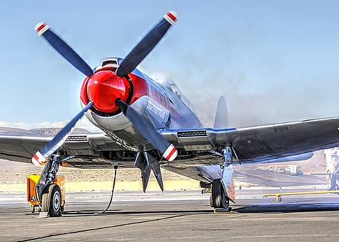 John King - Dreadnaught Engine Start Sunday Gold Unlimited Reno Air Races