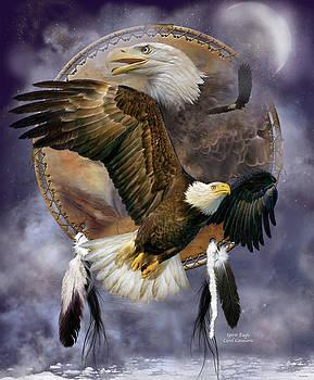 Dream Catcher - Spirit Eagle by Carol Cavalaris
