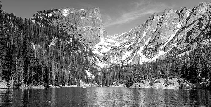 Dream Lake In Black And White by Michael Putthoff