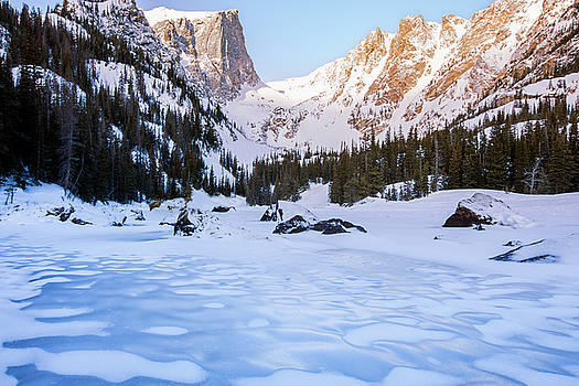 Dream Lake  by Tom Cuccio