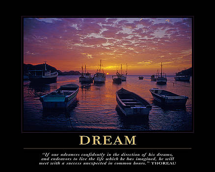 Dream Motivational Quote by David Simchock