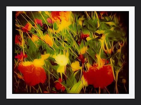 Dream Of Flowers by Debra Lynch