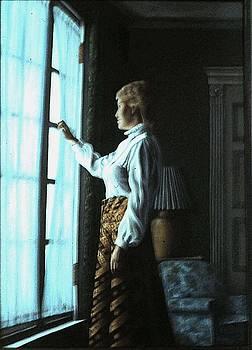 Dream on theme of Vermeer by Michael John Cavanagh