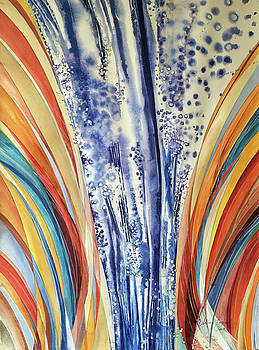 Dream Strata # 2 by Caron Sloan Zuger